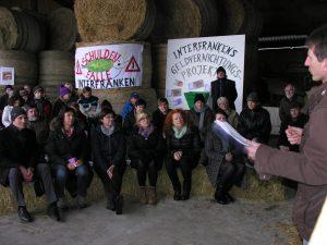 Klausurtagungsbesuch der Grünen Landtagsfraktion am 12.01.2017 in Ungetsheim