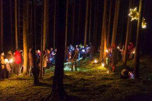 Einladung Waldweihnacht 2018