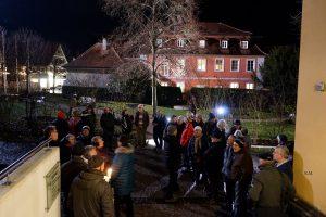 Demo Interfranken Sitzung 11.12.2018 Feuchtwangen